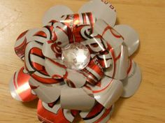 make a Soda Pop Can Hair Bows – Tutorial