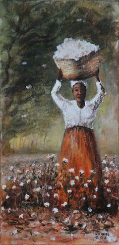 New Orleans Cotton Picker- Larry Kip Hayes