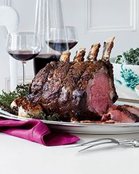 Prime Rib Roast with Horseradish Cream Recipe on Food & Wine