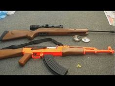 The Difference between airsoft and air rifles - YouTube