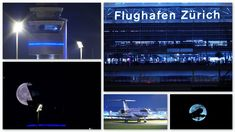 Plane & Moon Spotting @ Zurich Airport 27.09.2018