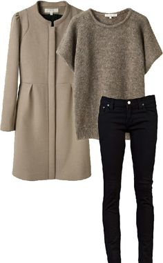Love this for the days when I need to look urban and professional while staying comfy. Would be a good travel outfit.