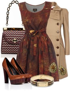 """Shades of brown"" by leilani-almazan on Polyvore"
