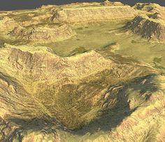 3ds max terrain maps