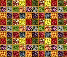 FarmersMarket fabric by mammajamma on Spoonflower - custom fabric