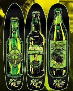 RESEARCH Creature Skateboards Designs