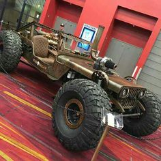 Jeep rat rod....