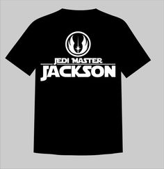 Custom Personalized Star Wars Jedi Master Shirt - Perfect for Family Vacation, Reunion, Teams, or Just for Fun!