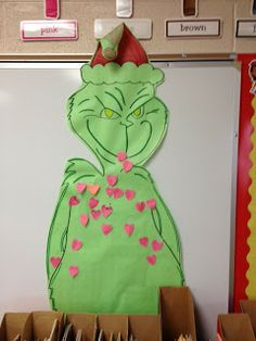 First Grade Fun! : Your Hearts are Growing, Mr. Grinch!
