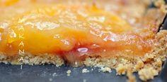 Une tarte aux pêches fondante et sablée, juste ... parfaite! - MakanaiMakanai