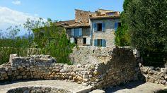Houses in Saint paul de vence. Provence.