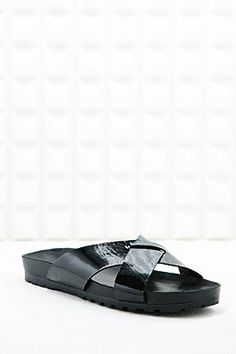Vagabond Erie Cross-Over Slider Sandals