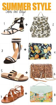 Summer Shoes and Bags
