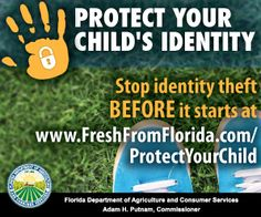 Child Identity Theft in Florida | What You Need to Know Now & How to Protect Your Family (sponsored) SavingSaidSimply.com