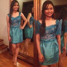 maxine santos @max_santos | Websta Formal Outfits, Formal Wear, Dress Outfits, Fashion Outfits, Formal Dresses, Modern Filipiniana Dress, Filipiniana Wedding, Wedding Themes, Party Themes