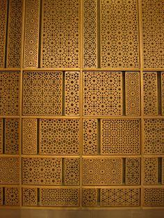 Like jali! Laser Cut Screens, Laser Cut Panels, Laser Cut Metal, Metal Panels, Laser Cutting, Screen Design, Wall Design, Room Divider Screen, Partition Screen