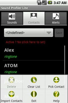 This application allows you to control:<br/>1. The volume of your audio sounds and save the sound combination to a name for a one-touch sound (volume) adjustments.<br/><br/>2. Ability to change the ringtone of contacts, notification and alarm, and create several combinations. Limited to 5 contacts and 1 profile.<br/><br/>Recent changes:<br/>Version 1.2.8<br/>- icons for contacts.<br/>- Remove application label banner.<br/><br/>Version 1.2.6<br/>- Ability to change the ringtone of contacts…