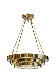 charles Edwards - Suspended round stepped deco