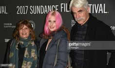 Actress Katharine Ross Cleo Ross and Sam Elliott attend the 'The Hero' premiere on day 3 of the 2017 Sundance Film Festival at Library Center Theater...