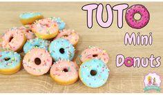 Mini donuts, recette donuts rapide et facile, donuts recipe, simpsons donuts, tuto donuts,