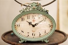 A lovely antique clock that would look great in your home!! Shop at Entwine located in the Fayette Mall in Lexington, Ky