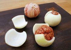 Wie man Onion Moinkballs zubereitet