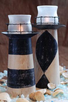 Burton Avenue: (Cereal Box) Lighthouse Candle Holder