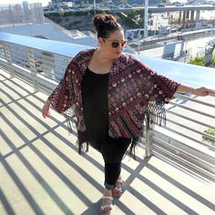 Last Days of Summer featuring #HarperandLiv #psootd #kimono