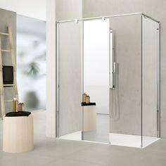 Novellini Inloopdouches Kuadra H - Product in beeld - Startpagina voor badkamer ideeën | UW-badkamer.nl