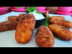 Ντοματοκεφτεδες νόστιμοι , εύκολοι γεμάτοι αρώματα. - YouTube Tandoori Chicken, Baked Potato, French Toast, The Creator, Breakfast, Cake, Ethnic Recipes, Food, Heart