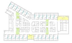 Children's Hospital Floor Plan