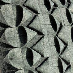 Origami Fortune Cookie cushion. Feltlovecymru Etsy.
