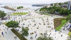 Urbanización de la Orla Prefeito Luiz Paulo Conde / Boulevard Olímpico / B+ABR Backheuser e Riera Arquitetura