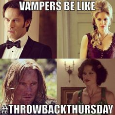 Throwback Thursday, True Blood style!