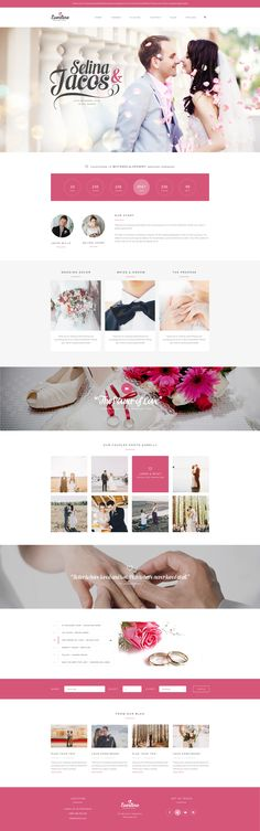 Everline – Wedding Template Published by Maan Ali