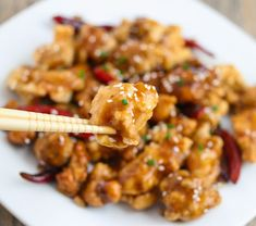 General Tso's Chicken | Kirbie's Cravings | A San Diego food & travel blog