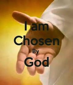 God, that is GOD of all Creation not only chose you, GOD Created you for this time and age. That is as GOD knows your heart and knows you are strong enough to make the stand GOD wants you to make. God also knows that you have the strength to make the change then left the choice up to you.