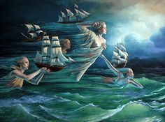 Guardians, Michael Cheval's newest piece here at HFA!