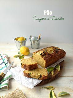 basta cheio: Pão de Curgete e Limão