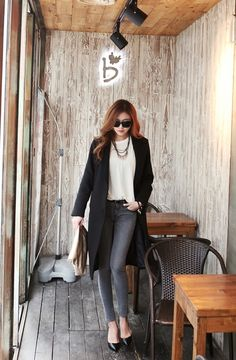 Itsmestyle to look extra k-fashionista ♥ www.itsmestyle.com #fashion #kfashion #asianstyle #itsmestyle #korean #kpop #womens fashion #lovely #cute #ulzzang #coat #jacket #leggings #pants #shoes #chic #boots #s/s #2013fashion