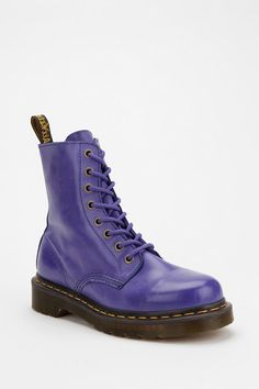 """""""Dr. Martens Saturated Bright 1460 Boot"""" $120.00 // Urban Outfitters"""