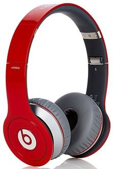 """Beats by Dr. Dre Beats """"Wireless"""" HD Headphones with Case, Cable and 25-Song Downloads"""