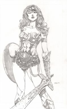 Wonder Woman by Jason Fabok! (DC comics)