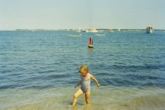 ST-C234-8-63. Caroline Kennedy in Hyannis Port During Independence Day Weekend - John F. Kennedy Presidential Library & Museum