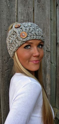 Crochet headwrapband