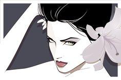 Painting by Patrick Nagel Patrick Nagel, Art And Illustration, Couple Drawings, Art Drawings, Nagel Tattoo, Drake Art, Pop Art, Nagel Art, Amazon Art