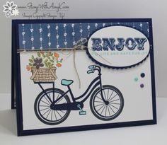 Stampin' Up! Bike Ride Sneak Peek for Fab Friday