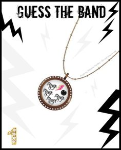 Guess the band! Using Origami Owl jewelry and the love of music, I create these fun posts. Hints: Four horses, One, Lightning ...think Metal. Origami Owl meets music bands! Metallica!