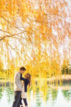 20 Romantic Fall Engagement Photo Ideas