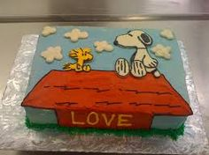 Image result for snoopy cake